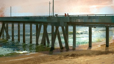 washington pier, concept art