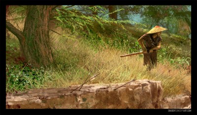 shaddy concept art samurai temescal creek