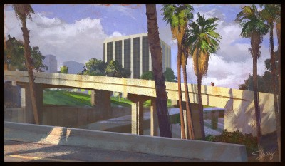 shaddy safadi, concept art, downtown la, 6th street overpass