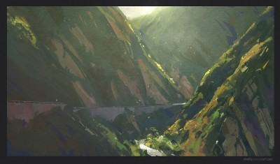 topenga canyon, shaddy concept art.