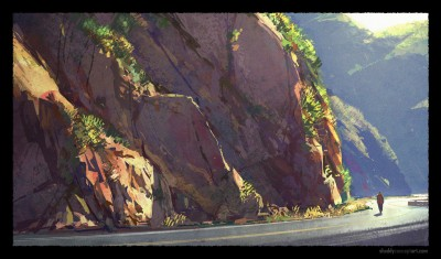 shaddy, malibu canyon road, concept art