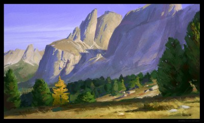 shaddy digital plein air, concept art, digital life painting