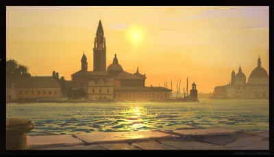 shaddy safadi, digital plein air, venice italy painting, digital painting